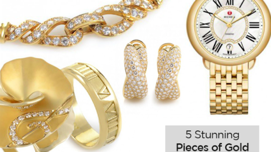 Go for the Gold: 5 Stunning Pieces of Gold Jewelry
