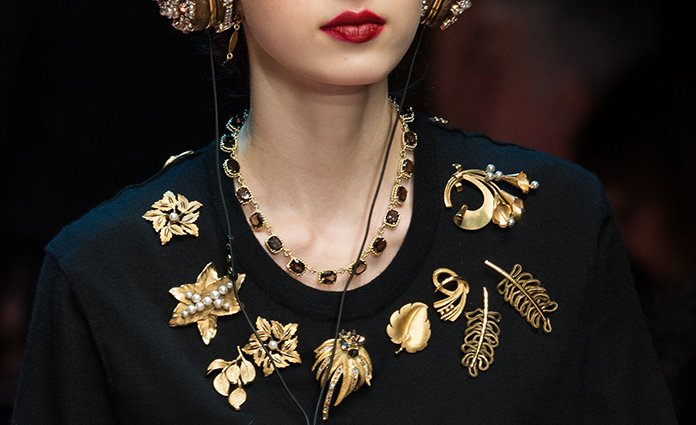 Trend Tracking: Brooches are Back