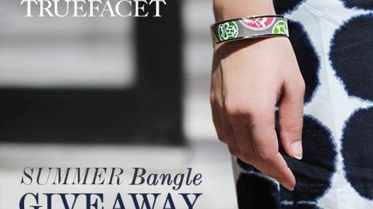 TrueFacet Summer Bangle Instagram Giveaway