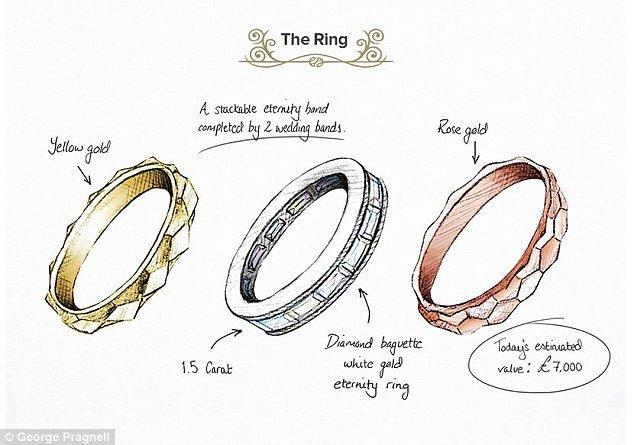 Audrey Hepburn Eternity Ring