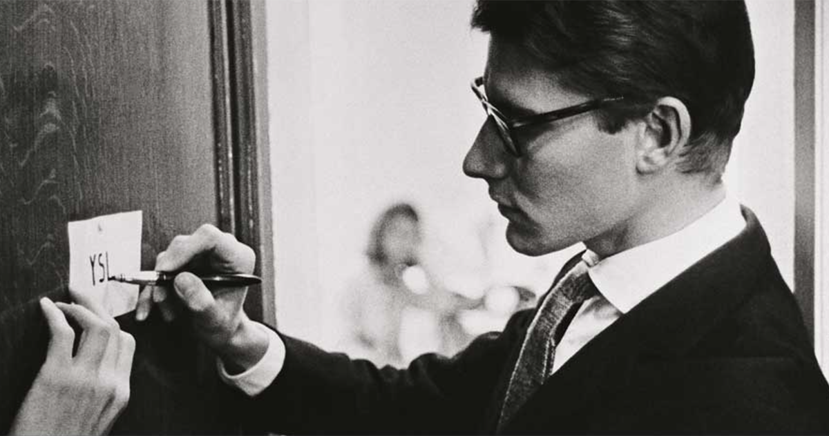 the history of yves saint laurent. Black Bedroom Furniture Sets. Home Design Ideas